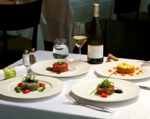 French Beef & Seafood Tartars