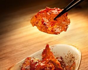 Translucent Beef Slices