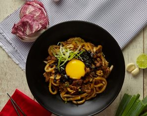 Stir Fried Beef Udon