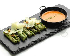 Tapas - Grilled Asparagus